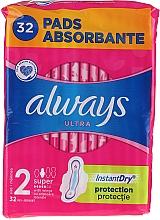 Parfums et Produits cosmétiques Serviettes hygiéniques, 32pcs - Always Ultra Super Plus