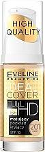 Parfums et Produits cosmétiques Fond de teint mat et couvrant - Eveline Cosmetics Ideal Cover Full HD SPF10