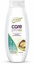 Parfums et Produits cosmétiques Crème de douche à l'huile d'argan - Luksja Care Pro Oils Creamy Shower Gel