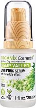 Parfums et Produits cosmétiques Sérum à l'acide hyaluronique et chanvre pour yeux - Organix Cosmetix Hemp Valley Eye Lifting Serum