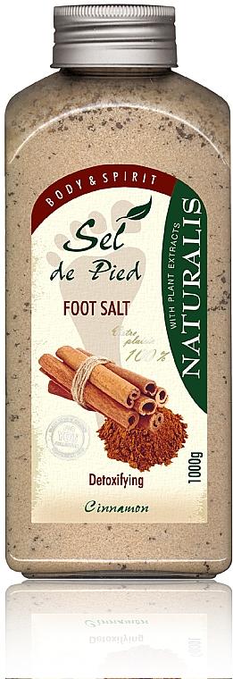 Sels de bain à la cannelle pour pieds - Naturalis Sep de Pied Cinnamon Foot Salt