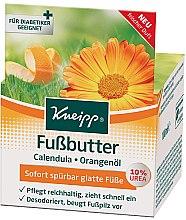 Parfums et Produits cosmétiques Beurre réparateur au calendula et orange pour pieds - Kneipp Foot Repair Butter Calendula & Rosemary