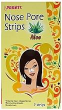 Parfums et Produits cosmétiques Patchs purifiants à l'aloe vera pour nez - Prreti Nose Pore Strips Aloe