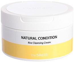 Parfums et Produits cosmétiques Crème de riz nettoyante pour le visage - The Saem Natural Condition Rice Cleansing Cream