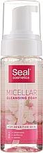 Parfums et Produits cosmétiques Mousse nettoyante au jus d'aloe vera pour visage - Seal Cosmetics Micellar Cleansing Foam