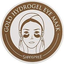 Parfums et Produits cosmétiques Patchs hydrogel à l'extrait de concombre pour yeux - Shangpree Gold Hydrogel Eye Mask