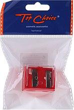 Parfums et Produits cosmétiques Taille-crayon cosmétique double, 2182 avec couvercle, rouge - Top Choice