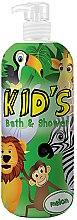 Parfums et Produits cosmétiques Gel douche et bain pour enfants, Melon - Hegron Kid's Melon Bath & Shower