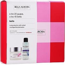 Parfums et Produits cosmétiques Bella Aurora Skincare Set - Set (crème pour visage/50ml + eau micellaire/100ml)