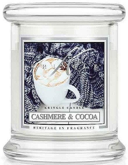 Bougie parfumée en verre - Kringle Candle Cashmere & Cocoa — Photo N1