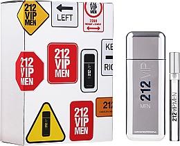 Parfums et Produits cosmétiques Carolina Herrera 212 VIP Men - Coffret cadeau (eau de toilette/100ml + eau de toilette/mini/10ml)