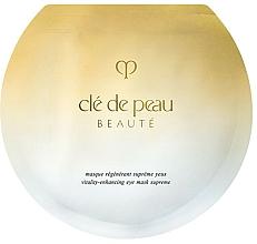 Parfums et Produits cosmétiques Masque régénérant contour des yeux - Cle De Peau Beaute Vitality-Enhancing Eye Mask Supreme