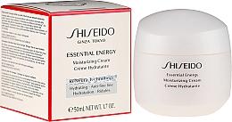 Parfums et Produits cosmétiques Crème à la glycérine pour visage - Shiseido Essential Energy Moisturizing Cream