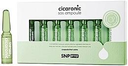 Parfums et Produits cosmétiques Ampoules à l'extrait d'herbe du tigre pour visage - SNP Prep Cicaronic SOS Ampoule