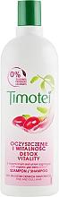 Parfums et Produits cosmétiques Shampooing à l'extrait de baie de goji pour cheveux fins - Timotei Explosion Vitality Shampoo