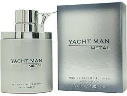 Parfums et Produits cosmétiques Myrurgia Yacht Man Metal - Eau de Toilette