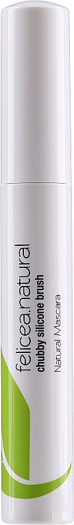 Mascara naturel avec brosse en silicone - Felicea — Photo N1