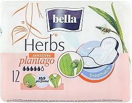Parfums et Produits cosmétiques Serviettes hygiéniques Panty Herbs Plantago, 12pcs - Bella