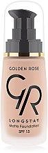 Parfums et Produits cosmétiques Fond de teint mat - Golden Rose Longstay Matte Foundation