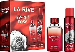 Parfums et Produits cosmétiques La Rive Sweet Rose - Set (eau de parfum/90ml + déodorant/150ml)