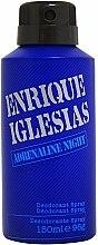 Parfums et Produits cosmétiques Enrique Iglesias Adrenaline Night - Déodorant spray parfumé