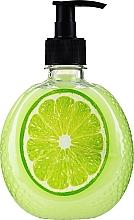 Parfums et Produits cosmétiques Savon liquide crémeux à l'extrait de lime - Délicieux secrets