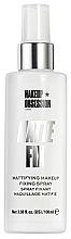 Parfums et Produits cosmétiques Spray matifiant et fixateur de maquillage - Makeup Obsession Matte Fix