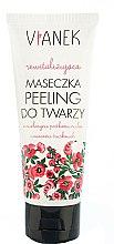 Parfums et Produits cosmétiques Masque exfoliant aux graines moulues de framboise et fraise pour visage - Vianek Mask