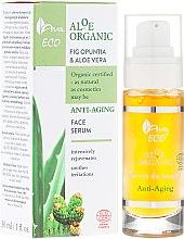 Parfums et Produits cosmétiques Sérum à l'aloe vera et figuier de Barbarie pour visage - Ava Laboratorium Aloe Organiic Serum