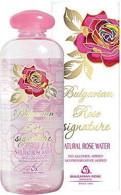 Eau de rose bulgare naturelle - Bulgarian Rose Signature Rose Water — Photo N1