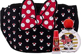Parfums et Produits cosmétiques Disney Minnie Mouse - Set (eau de toilette/50ml + baume à lèvres/3,5g + trousse de toilette)