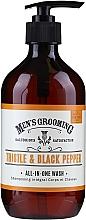 Parfums et Produits cosmétiques Gel douche intégral pour corps et cheveux - Scottish Fine Soaps Men's Grooming Thistle & Black Pepper All-In-One Wash