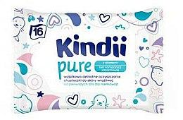 Parfums et Produits cosmétiques Lingettes nettoyantes peaux sensibles pour enfant - Kindii Pure