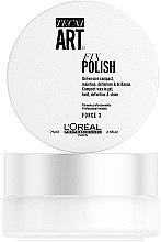Parfums et Produits cosmétiques Gel-en-cire compact, maintien, définition et brillance - L'Oreal Professionnel Tecni.Art Fix Polish Gel-Wax