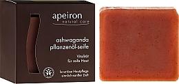 Parfums et Produits cosmétiques Savon naturel au ginseng indien - Apeiron Ashwaganda Plant Oil Soap