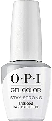 Base protectrice pour vernis hybride - O.P.I. Gel Color Stay Strong Base Coat