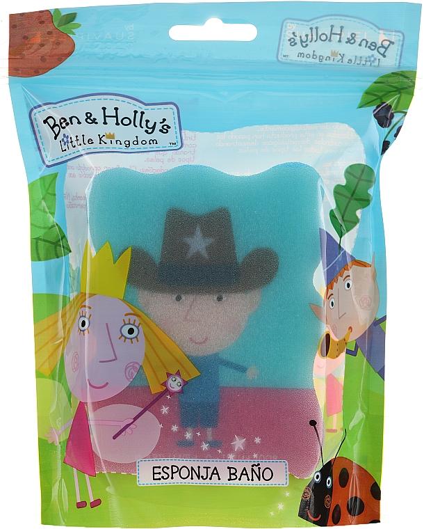 Éponge de bain pour enfants, Ben et Holly, Ben, shérif, bleu - Suavipiel Ben & Holly Bath Sponge — Photo N1