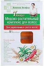 Parfums et Produits cosmétiques Complexe régénérant au miel et extrait naturel pour les cheveux - Les recettes de babouchka Agafia