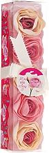 Parfums et Produits cosmétiques Confettis de savon parfumés à la rose, 5pcs - Spa Moments Bath Confetti Rose