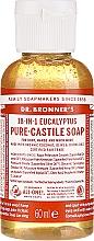 Parfums et Produits cosmétiques Savon liquide Eucalyptus - Dr. Bronner's 18-in-1 Pure Castile Soap Eucalyptus