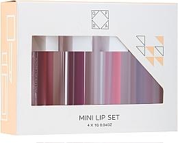 Parfums et Produits cosmétiques Set (rouges à lèvres liquides/4x8g) - Ofra To: Me Mini Liquid Lipstick Set