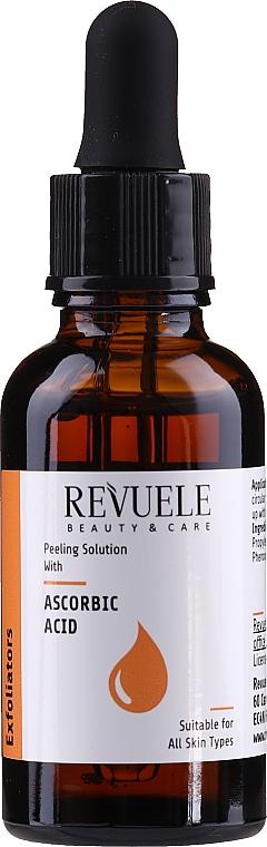Solution exfoliante à l'acide ascorbique pour visage - Revuele Peeling Solution Ascorbic Acid Exfoliator
