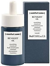 Parfums et Produits cosmétiques Huile de nuit vitaminée pour visage - Comfort Zone Renight Nourishing Vitamin Oil