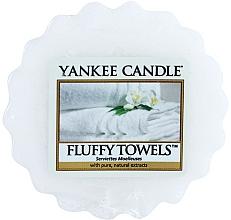 Parfums et Produits cosmétiques Tartelette de cire parfumée Serviettes Moelleuses - Yankee Candle Fluffy Towels Tarts Wax Melts