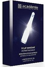 Parfums et Produits cosmétiques Ampoules éclaircissantes pour le visage - Academie Instant Radiance Express Lifting Booster