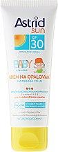 Parfums et Produits cosmétiques Crème solaire pour enfants - Astrid Sun Baby Cream SPF 30