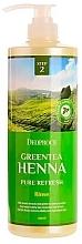 Parfums et Produits cosmétiques Après-shampooing à l'extrait de thé vert - Deoproce Green Tea Henna Pure Refresh Rinse