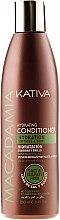 Parfums et Produits cosmétiques Après-shampoing à l'huile de macadamia - Kativa Macadamia Hydrating Conditioner