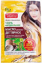 Parfums et Produits cosmétiques Huile de goudron 100% naturelle pour cheveux - FitoKosmetic