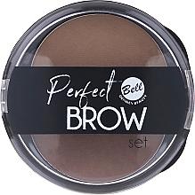 Parfums et Produits cosmétiques Fard à sourcils avec applicateur - Bell Perfect Brow Set